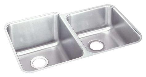 cheap double kitchen sink kitchen elkay eluh3120r gourmet double bowl undermount
