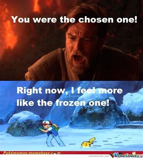 You Were The Chosen One Meme - confused by recyclebin meme center