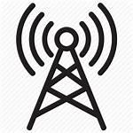 Icon Tower Antenna Network Wireless Wifi Signal