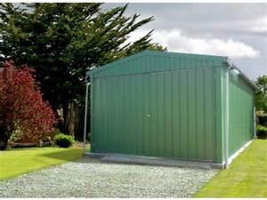 Tole Bardage Pas Cher : garage m tallique id730 charpente acier galva en kit ~ Premium-room.com Idées de Décoration