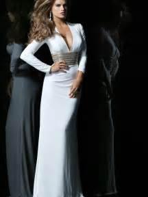 brautkleider empire stil paillette chiffon empire lange ärmel wickeln schwarz bodenlang v ausschnitt billige abendkleider