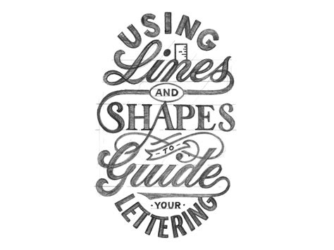 lettering cover up using lines and shapes to guide your lettering pies brand