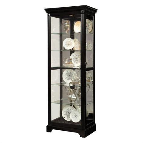 pulaski furniture curio cabinet pulaski curio display cabinet in painted black 21459