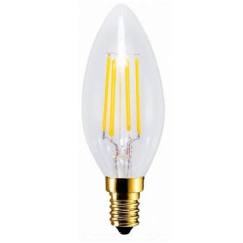 retro filament led candelabra torpedo light bulb c32
