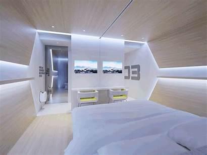Futuristic Future Concept Interior Sharing Think Eco