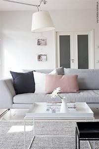 Salon Gris Et Rose : la fabrique d co associer les couleurs dans la d co gris et rose poudr ~ Preciouscoupons.com Idées de Décoration