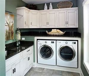 30 coolest laundry room design ideas for today39s modern homes With kitchen colors with white cabinets with utility room wall art