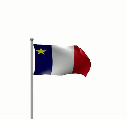 Fungif Flag Acadian Flags