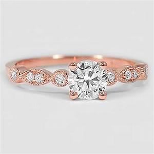vintage diamond engagement ring tiara brilliant earth With tiara wedding ring