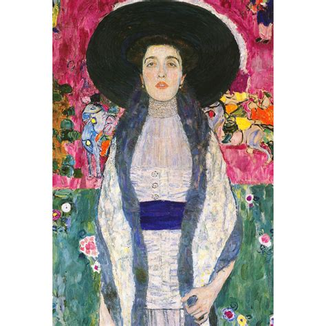 gustav klimt prints gustav klimt portrait of adele bloch bauer ii canvas
