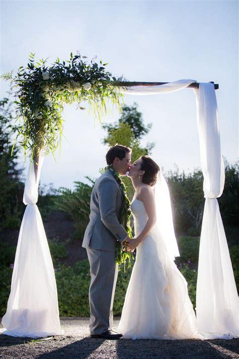 wedding arbor wedding arch green  white wedding