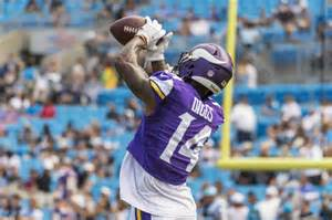 vikings 39 officially rule out stefon diggs against lions