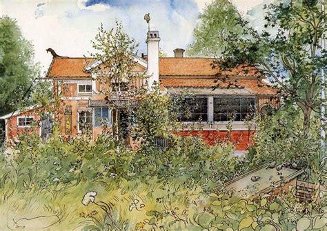 Carl Larsson Haus Bauen Schwedisches Blockhaus