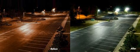 induction ls vs metal halide led light design exciting parking lot led lights parking