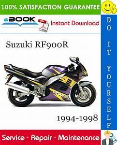 Suzuki Rf900r Motorcycle Service Repair Manual 1994