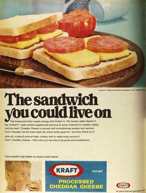 cheese advert flashbak