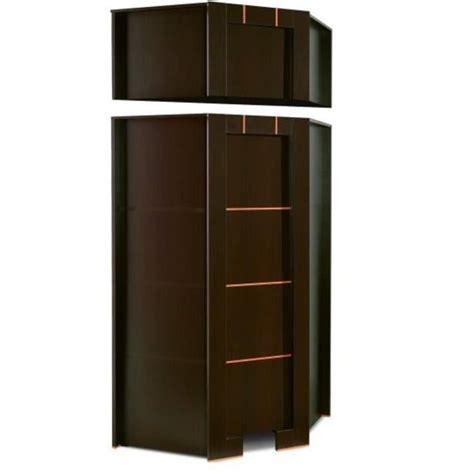 meuble penderie chambre armoire dressing d angle 1 porte moderne wenge avec