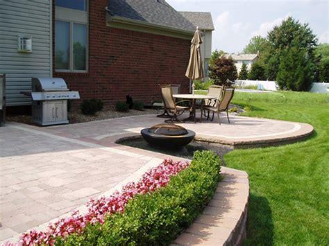 circular paver patio patio brick patterns brick paver