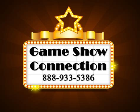 game show connection logo design hourslogocom