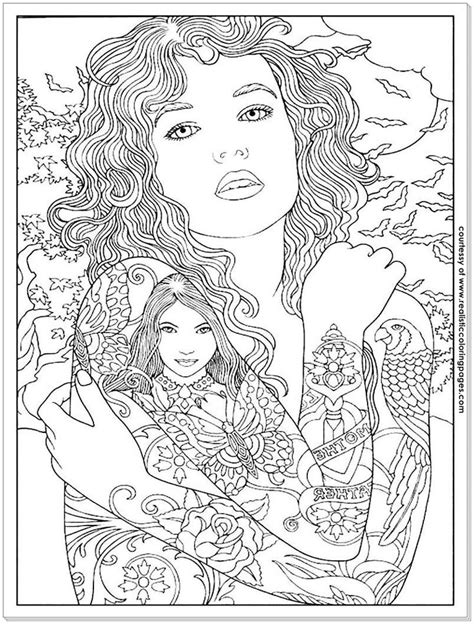 8 Tattoo Design Adults Coloring Pages   Designs coloring