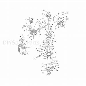 Stiga Sh160  2008  Parts Diagram  Engine