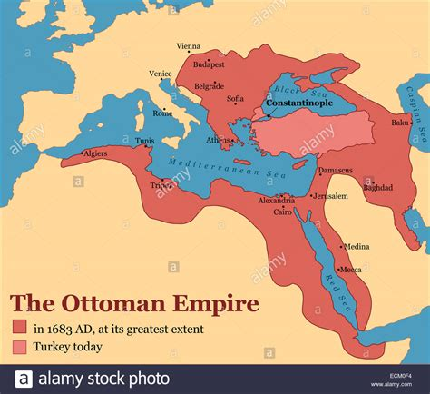 Turks Ottoman Empire by The Ottoman Empire At Its Greatest Extent In 1683 And