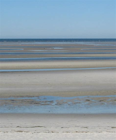 Skaket Beach, Cape Cod Ma At Low Tide You Can Walk 34