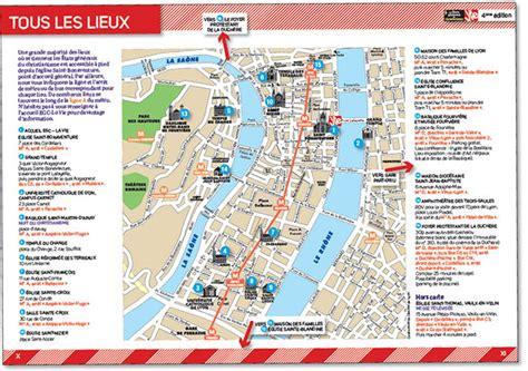 Carte Touristique Centre by Carte Touristique Lyon Centre My