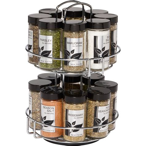 Spice Rack And Spices by Kamenstein 16 Jar Spice Rack Ebay