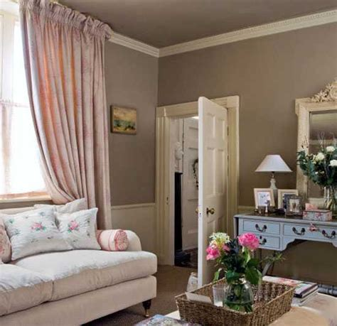 French Country Living Room Ideas Pinterest by Chocolate Brown Interior Colors And Comfortable Interior