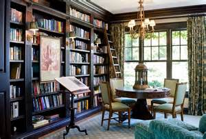 home interior book traditional library by timothy corrigan