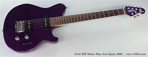 2000 Ernie Ball Music Man Axis Sport