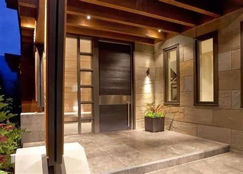 contoh gambar teras rumah minimalis terbaru eksterior