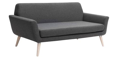 softline canapé softline scope anthracite canapés droits sur easylounge