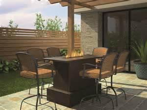 outdoor patio bar height bistro table outdoor wiring