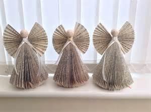 Folded Book Angel Craft