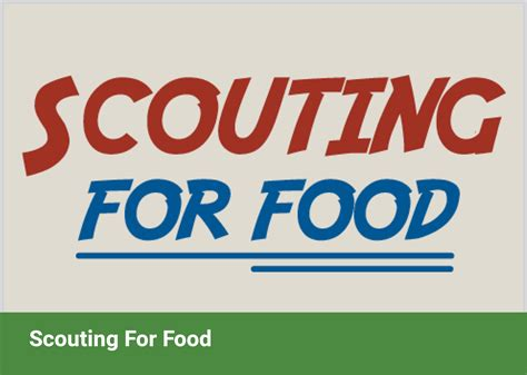 Scouting Campaign Feature Image - San Antonio Food Bank