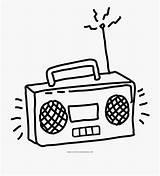 Radio Coloring Para Dibujar Animado Colorear Animados La Cartoon Pages Netclipart Cienpies Tower Template sketch template