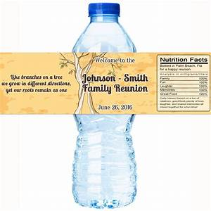 family reunion water bottle labels family reunion With family reunion water bottle labels