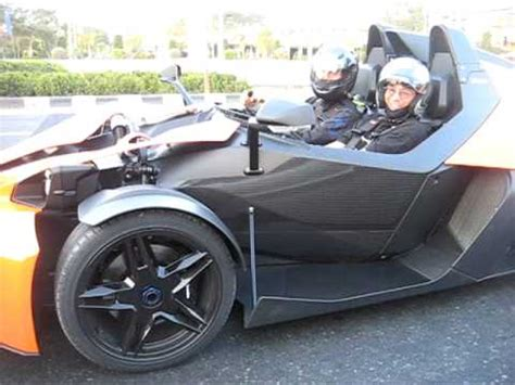 car with no doors ktm x bow car no roof doors or windshield