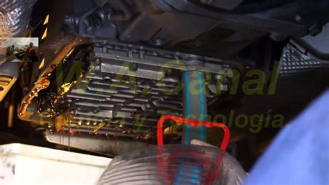 cambio de aceite  una transmision automatica youtube
