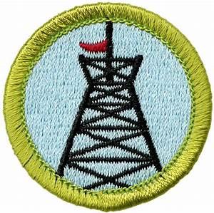 pioneering merit badge emblem boy scouts of america