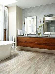 Badezimmer Waschtisch Mit Unterschrank : waschtisch aus holz f r mehr gem tlichkeit im bad ~ Indierocktalk.com Haus und Dekorationen