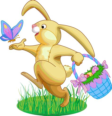 Easter Clipart Easter Bunny  Pencil And In Color Easter