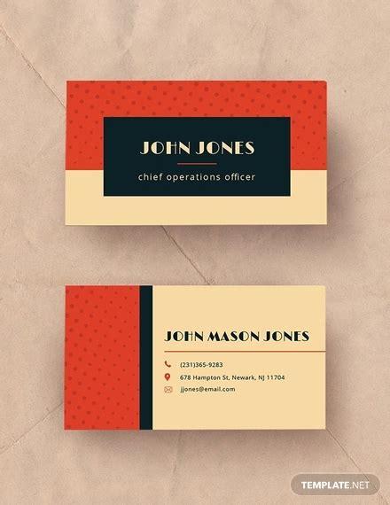 vintage business card templates psd ai apple page