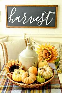 Creative, Fall, Decorating, With, Baskets