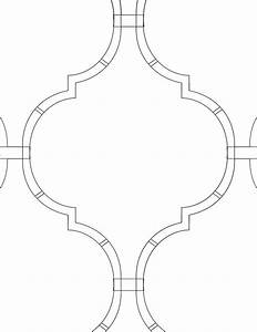 13 best stencil patterns images on pinterest arabesque With moroccan shapes templates