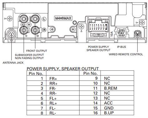 wiring diagram for pioneer deh x6700bt powerking co