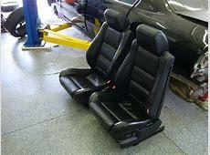 E34 FS M5 MSport Front Recaro Sport Seats Black