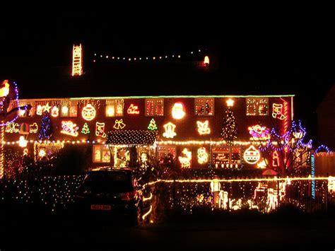 file christmas lights fairlie park ringwood geograph
